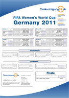WM 2011 Download Spielplan
